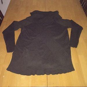 Lane Bryant Ribbed Cowl Neck Sweater